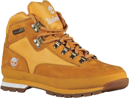 Men's Timberland Euro Hiker Leather and Fabric, Wheat/White Full Grain Leather, large, image 1