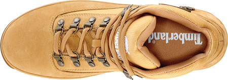 Men's Timberland Euro Hiker Leather and Fabric, Wheat/White Full Grain Leather, large, image 3