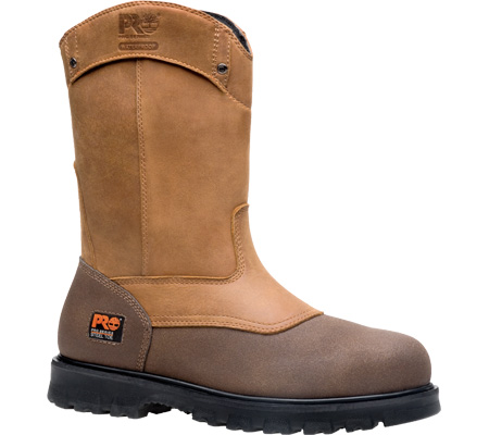 Men's Timberland PRO Rigmaster Waterproof Steel Toe Wellington, Wheat Bandit Leather, large, image 1
