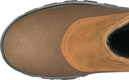 Men's Timberland PRO Rigmaster Waterproof Steel Toe Wellington, Wheat Bandit Leather, large, image 3