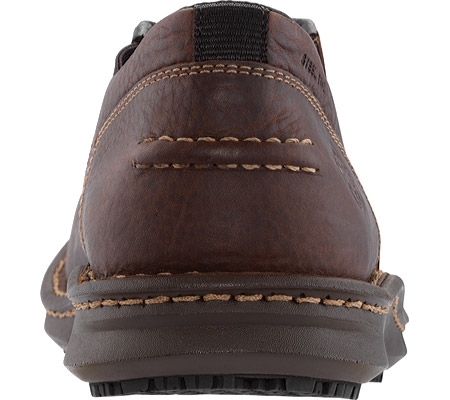 Men's Timberland PRO Gladstone ESD Steel Toe Slip-On, Brown Full Grain Leather, large, image 3