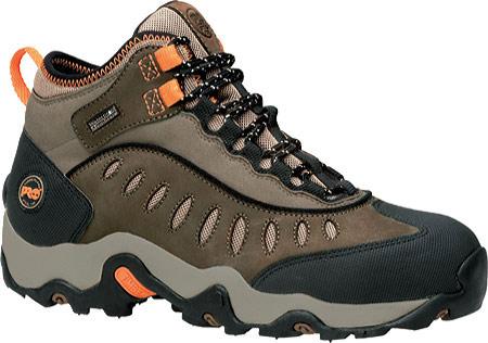 Men's Timberland PRO Mudslinger Mid Waterproof Steel Toe, Brown Nubuck, large, image 1