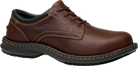 Men's Timberland PRO Gladstone ESD Steel Toe Lace-Up, Brown Full Grain Leather, large, image 1