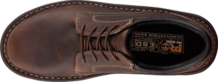 Men's Timberland PRO Gladstone ESD Steel Toe Lace-Up, Brown Full Grain Leather, large, image 4