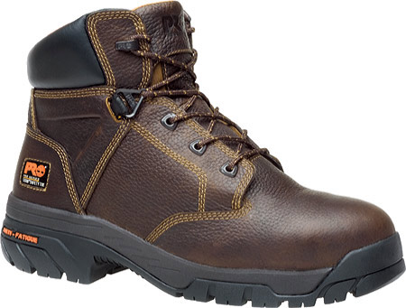 """Men's Timberland PRO Helix 6"""" Safety Toe, Brown Full Grain Leather, large, image 1"""