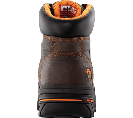 """Men's Timberland PRO Helix 6"""" Safety Toe, Brown Full Grain Leather, large, image 3"""