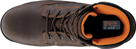 """Men's Timberland PRO Helix 6"""" Safety Toe, Brown Full Grain Leather, large, image 4"""