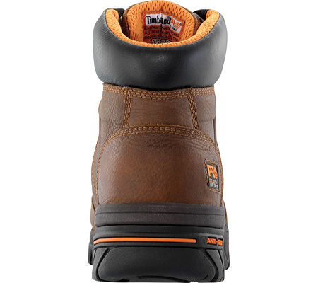 """Men's Timberland PRO Helix 6"""" Waterproof Safety Toe, Brown Full Grain Leather, large, image 3"""