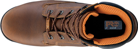 """Men's Timberland PRO Helix 6"""" Waterproof Safety Toe, Brown Full Grain Leather, large, image 4"""