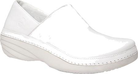 Women's Timberland PRO Renova Professional Slip-On, White Leather, large, image 1