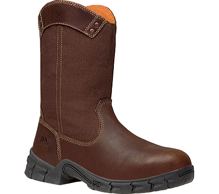 Men's Timberland PRO Excave Wellington Steel Toe, Brown Leather, large, image 1