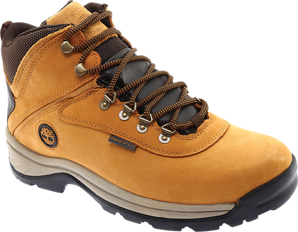 Men's Timberland White Ledge Mid Waterproof 2, Wheat Full Grain Leather, large, image 1