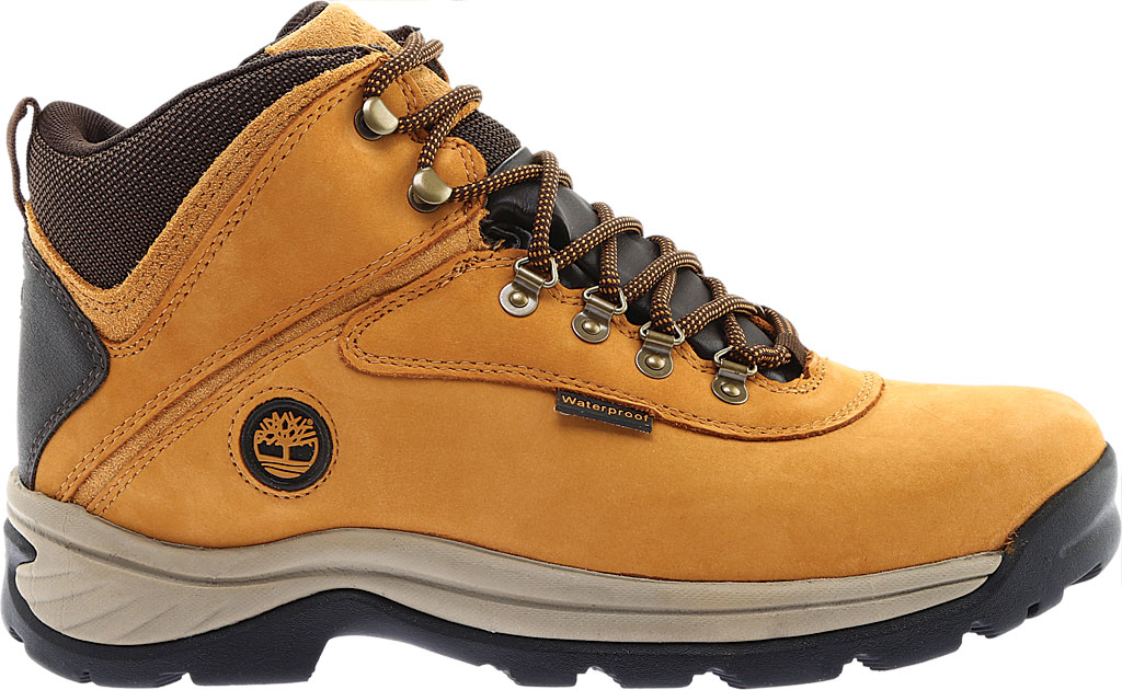 Men's Timberland White Ledge Mid Waterproof 2, Wheat Full Grain Leather, large, image 2