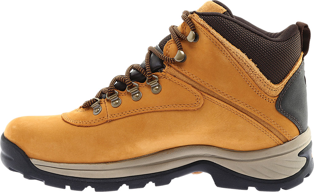 Men's Timberland White Ledge Mid Waterproof 2, Wheat Full Grain Leather, large, image 3