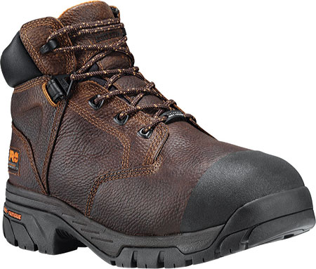 "Men's Timberland PRO Helix 6"" Met Guard, Brown Full Grain Leather, large, image 1"
