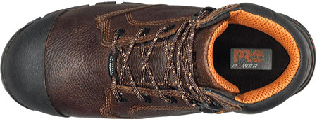 "Men's Timberland PRO Helix 6"" Met Guard, Brown Full Grain Leather, large, image 4"