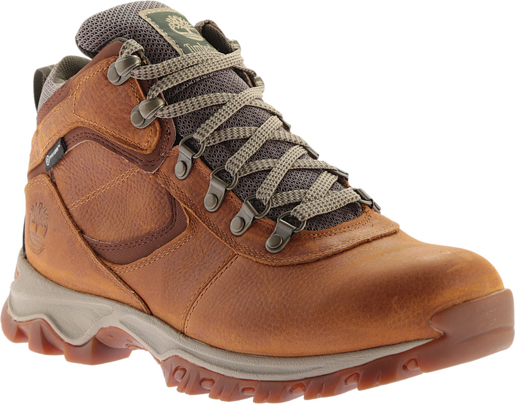 Men's Timberland Earthkeepers Mt. Maddsen Mid Waterproof Hiker Boot, Light Brown Full Grain Leather, large, image 1