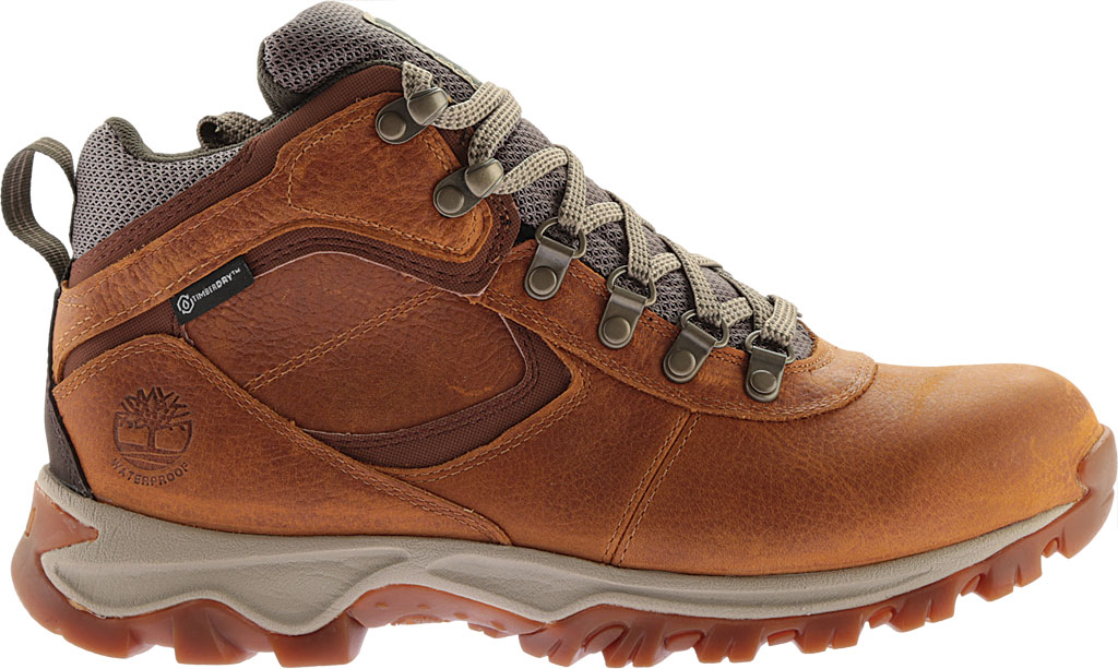 Men's Timberland Earthkeepers Mt. Maddsen Mid Waterproof Hiker Boot, Light Brown Full Grain Leather, large, image 2