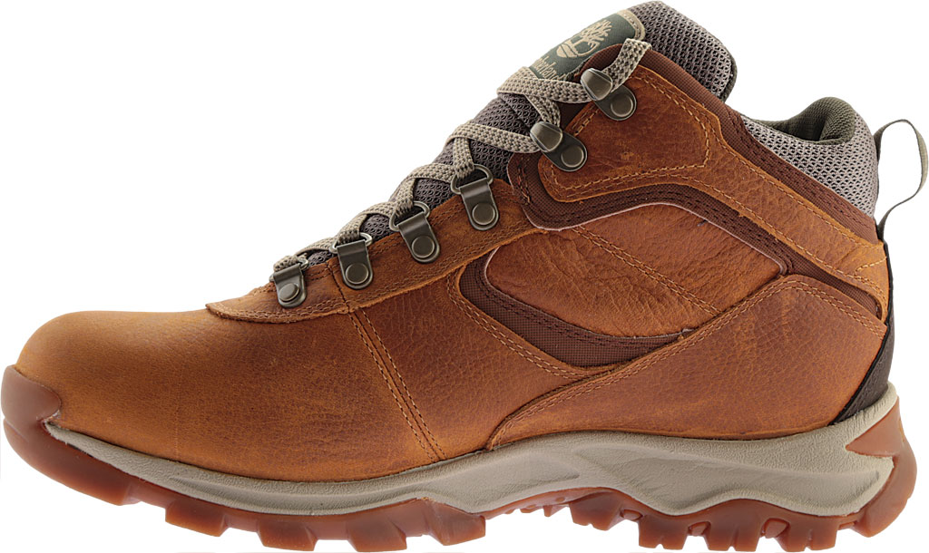Men's Timberland Earthkeepers Mt. Maddsen Mid Waterproof Hiker Boot, Light Brown Full Grain Leather, large, image 3