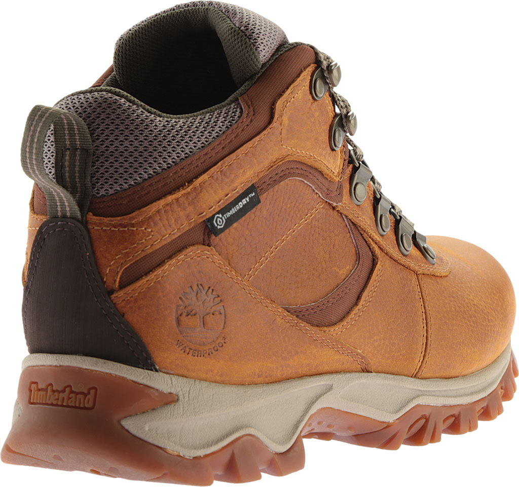 Men's Timberland Earthkeepers Mt. Maddsen Mid Waterproof Hiker Boot, Light Brown Full Grain Leather, large, image 4