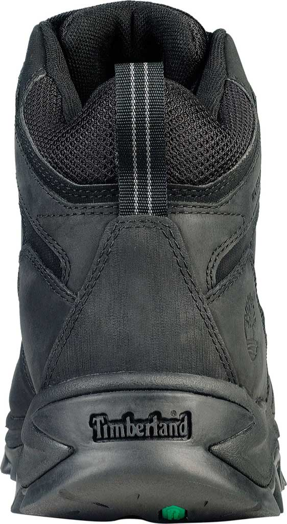 Men's Timberland Earthkeepers Mt. Maddsen Mid Waterproof Hiker Boot, Black Leather, large, image 3