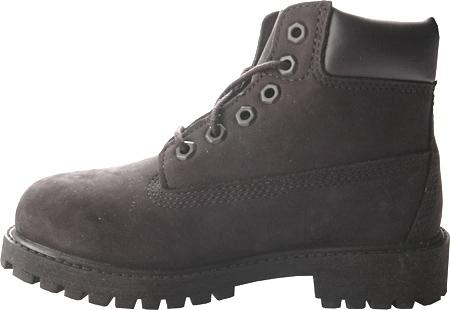 """Children's Timberland 6"""" Premium Waterproof Boot Junior, Black Nubuck, large, image 3"""
