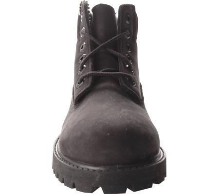 """Children's Timberland 6"""" Premium Waterproof Boot Junior, Black Nubuck, large, image 4"""