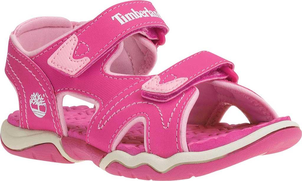 Children's Timberland Adventure Seeker 2-Strap Sandal Junior, Pink Synthetic, large, image 1