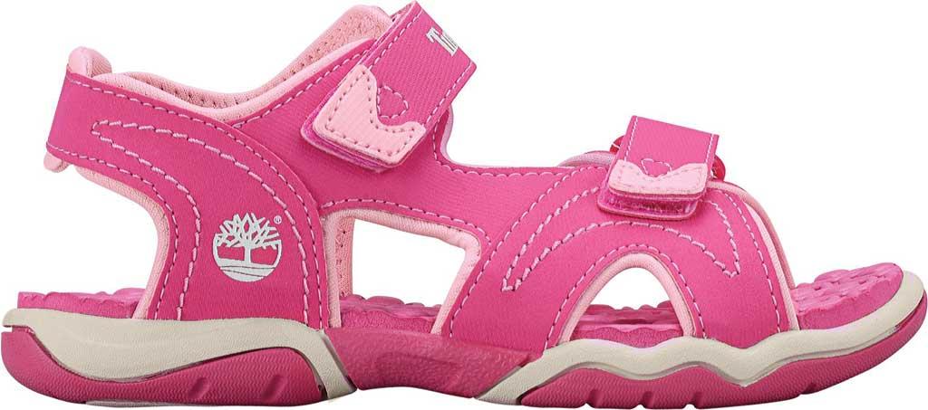 Children's Timberland Adventure Seeker 2-Strap Sandal Junior, Pink Synthetic, large, image 2
