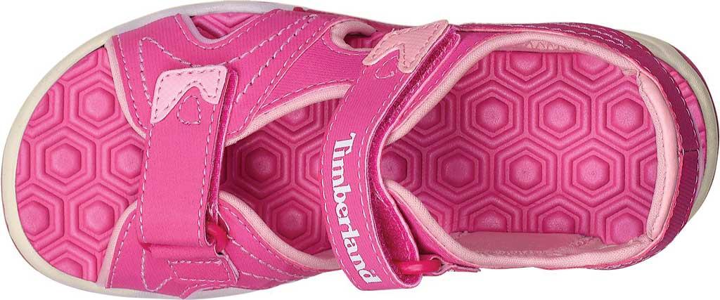 Children's Timberland Adventure Seeker 2-Strap Sandal Junior, Pink Synthetic, large, image 4