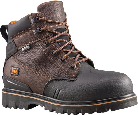 """Men's Timberland PRO Rigmaster XT 6"""" Steel Toe Waterproof Boot, Brown Tumbled Leather, large, image 1"""