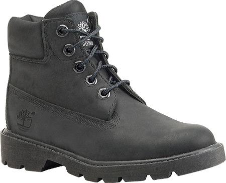 Children's Timberland 6 Inch Classic Boot Youth, Black Nubuck, large, image 1