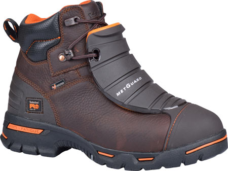 "Men's Timberland PRO 6"" Endurance Steel Toe Work Boot, Brown Full Grain Leather, large, image 1"