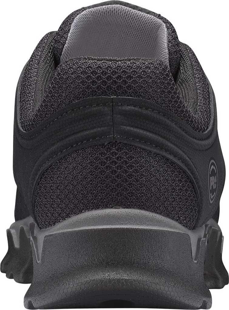 Men's Timberland PRO Powertrain Alloy Safety Toe EH Work Shoe, Black Ripstop Nylon, large, image 3