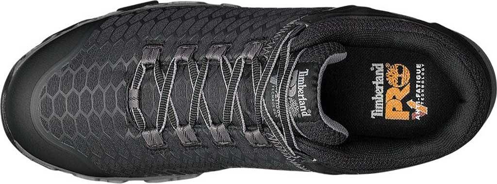 Men's Timberland PRO Powertrain Alloy Safety Toe EH Work Shoe, Black Ripstop Nylon, large, image 4
