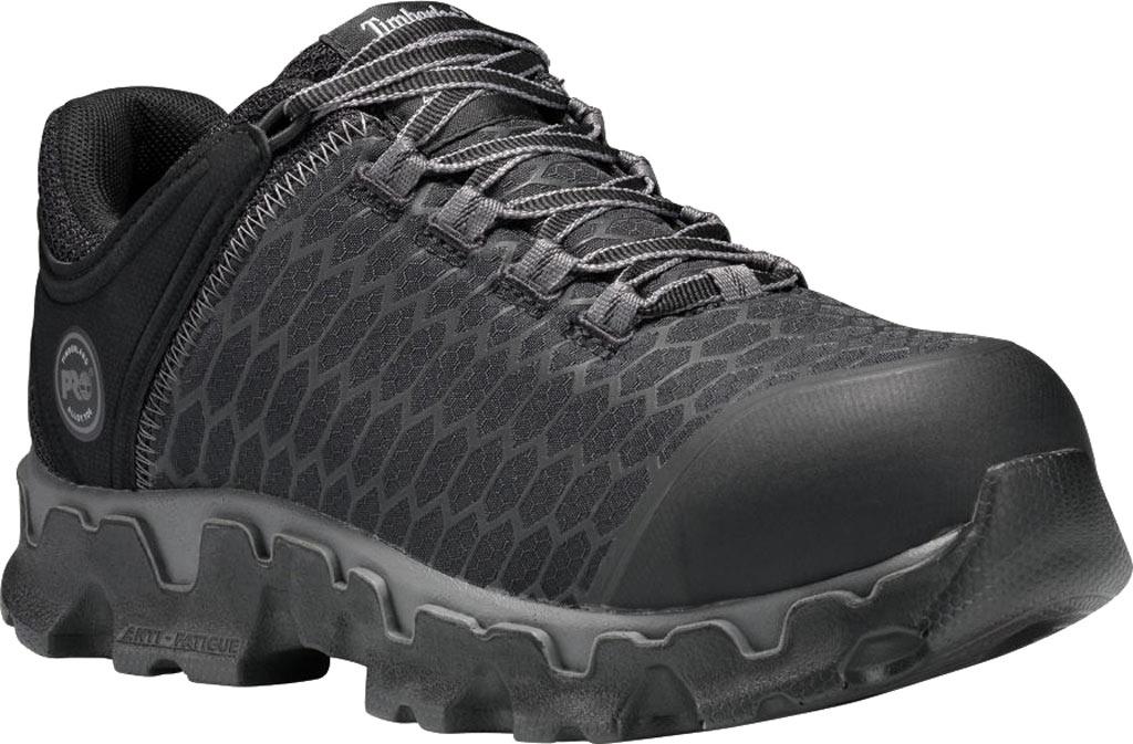 Women's Timberland PRO Powertrain Sport Alloy Safety Toe SD Plus Shoe, Black Ripstop Nylon, large, image 1