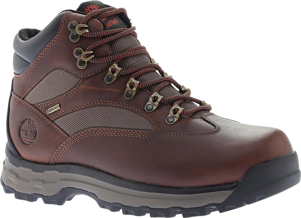 Men's Timberland Chocorua Trail 2.0 GORE-TEX Waterproof Hiking Shoe, Medium Brown Full Grain Leather, large, image 1