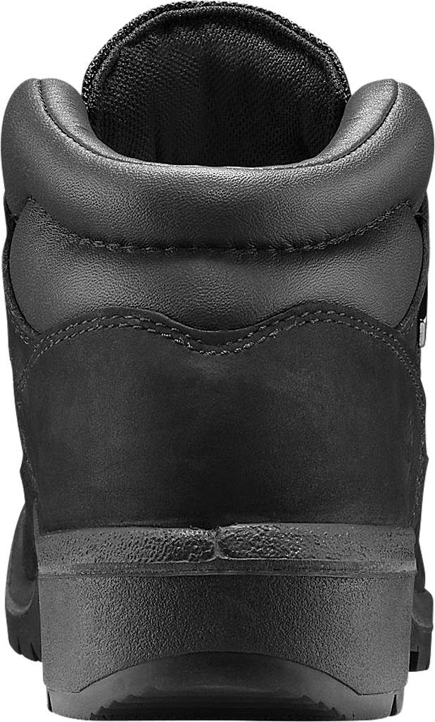 Men's Timberland Field Leather/Fabric Waterproof Boot, Black Waterbuck Nubuck, large, image 3