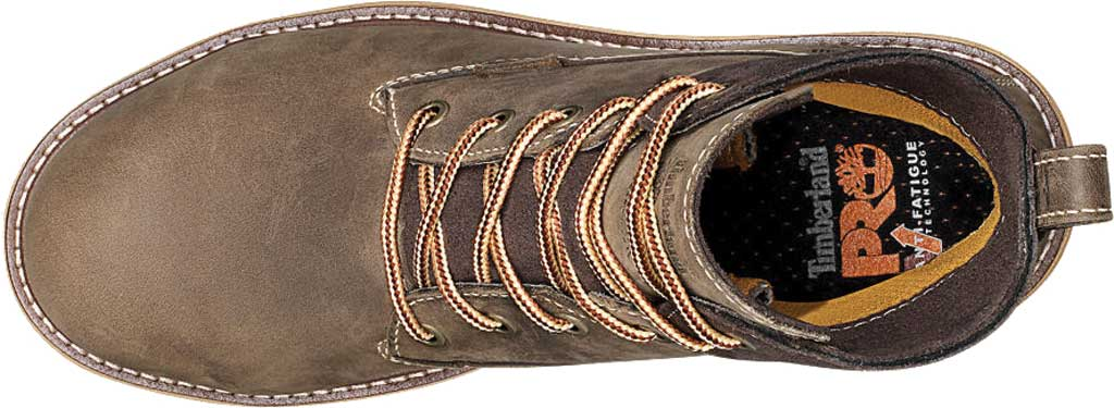 "Women's Timberland PRO 6"" Hightower Alloy Toe Waterproof Boot, Turkish Coffee Full Grain Leather, large, image 4"