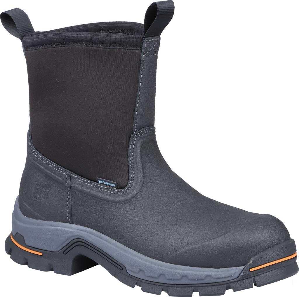 Timberland PRO Stockdale Alloy Toe Wellington Work Boot, Black Synthetic/Leather, large, image 1