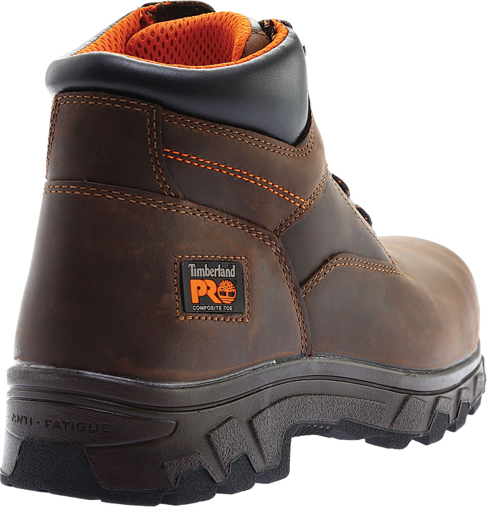 """Men's Timberland PRO 6"""" Workstead Composite Toe Work Boot, Brown Full Grain Leather, large, image 4"""