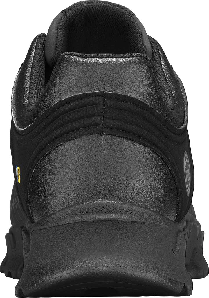 Men's Timberland PRO Powertrain Sport Alloy Safety Toe SD+ Work Shoe, Black Ever-Guard Leather, large, image 3