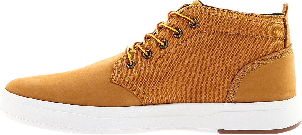 Men's Timberland Davis Square Fabric/Leather Chukka Boot, Wheat Nubuck/Cordura EcoMade Fiber, large, image 3
