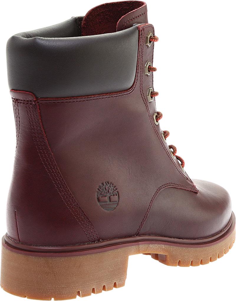 "Women's Timberland Jayne 6"" Waterproof Ankle Boot, Burgundy Full Grain Leather, large, image 4"