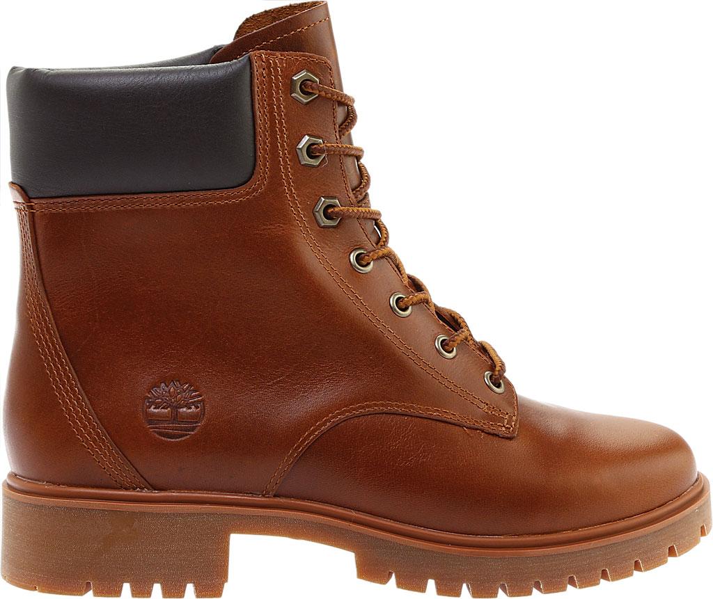 "Women's Timberland Jayne 6"" Waterproof Ankle Boot, Medium Brown Full Grain Leather, large, image 2"