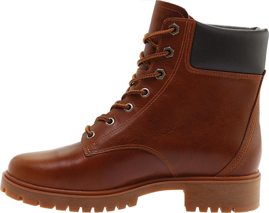 "Women's Timberland Jayne 6"" Waterproof Ankle Boot, Medium Brown Full Grain Leather, large, image 3"
