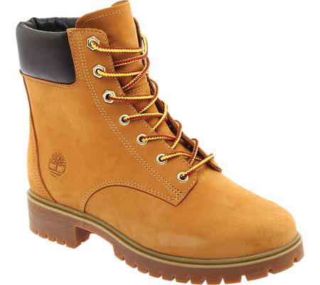 "Women's Timberland Jayne 6"" Waterproof Ankle Boot, Wheat Nubuck, large, image 1"