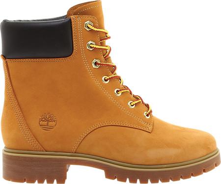 "Women's Timberland Jayne 6"" Waterproof Ankle Boot, Wheat Nubuck, large, image 2"