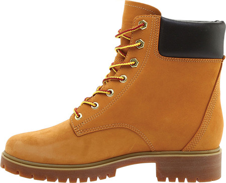 "Women's Timberland Jayne 6"" Waterproof Ankle Boot, Wheat Nubuck, large, image 3"