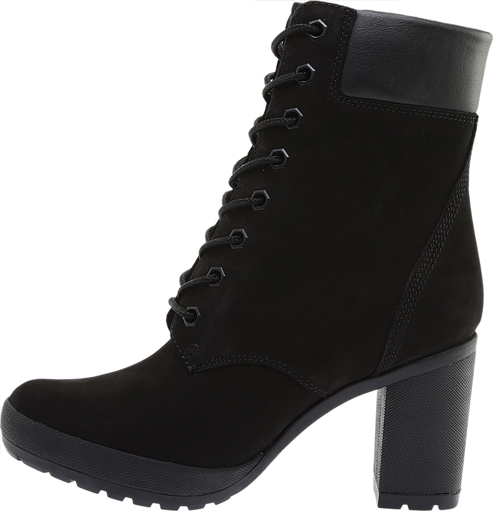 """Women's Timberland Camdale 6"""" Ankle Bootie, Black Nubuck, large, image 3"""